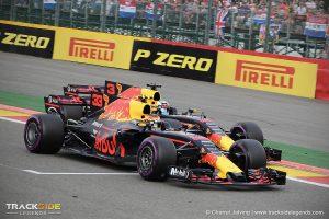 Belgian GP 2017 - Daniel Ricciardo vs. Max Verstappen