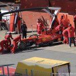 F1 Pre-season testing Day 1 - Sebastian Vettel - Scuderia Ferrari