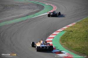 F1 Pre-season testing Day 1 - Carlos Sainz & Daniel Ricciardo - McLaren - Renault F1