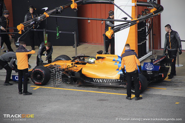 F1 Pre-season testing Day 2