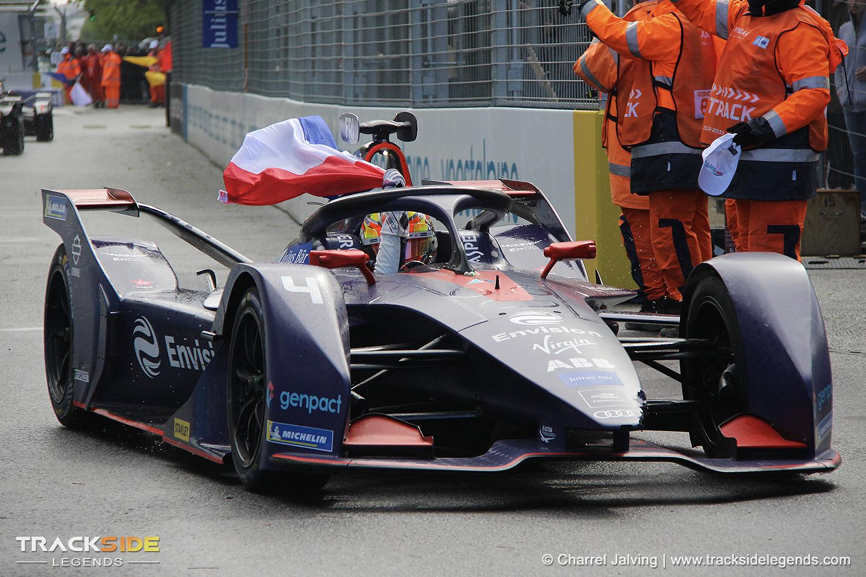 Formula E victory for Robin Frijns - Paris E-Prix 2019