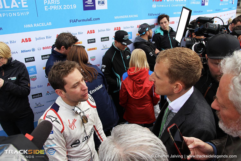 Robin Frijns interviewed - Formula E - Paris E-Prix 2019