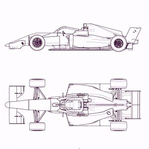 Technical details W Series car