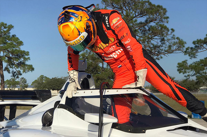 Rinus Veekay ready for Indycar 2020