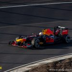 Max Verstappen in his Red Bull F1 on renewed Circuit Zandvoort
