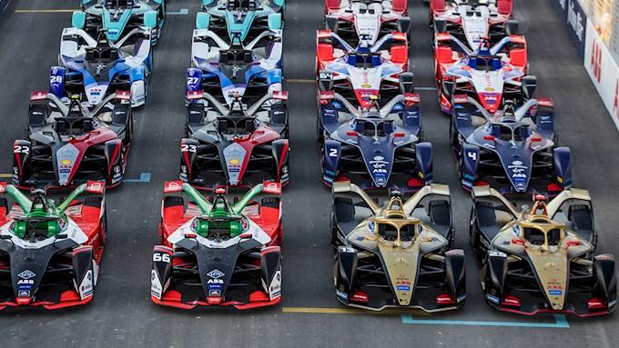 Empty Formula E grid - Corona