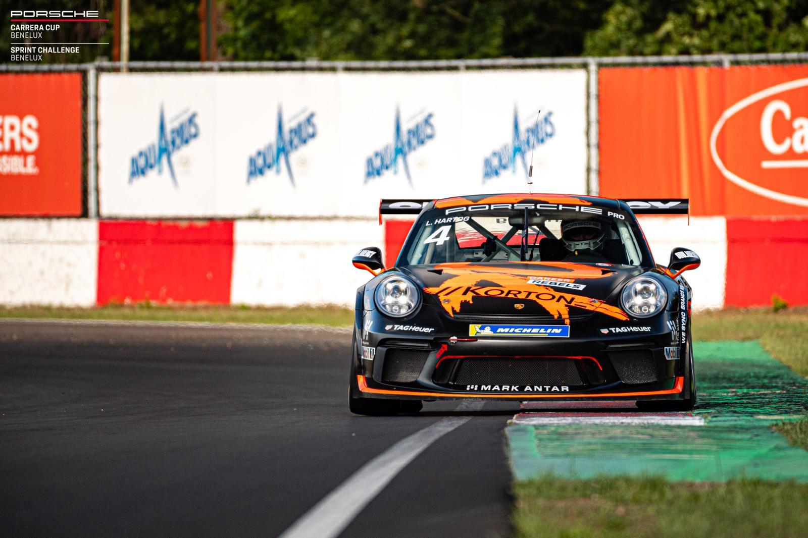 Bas Koeten Racing - Porsche Supercup - Loek Hartog on track