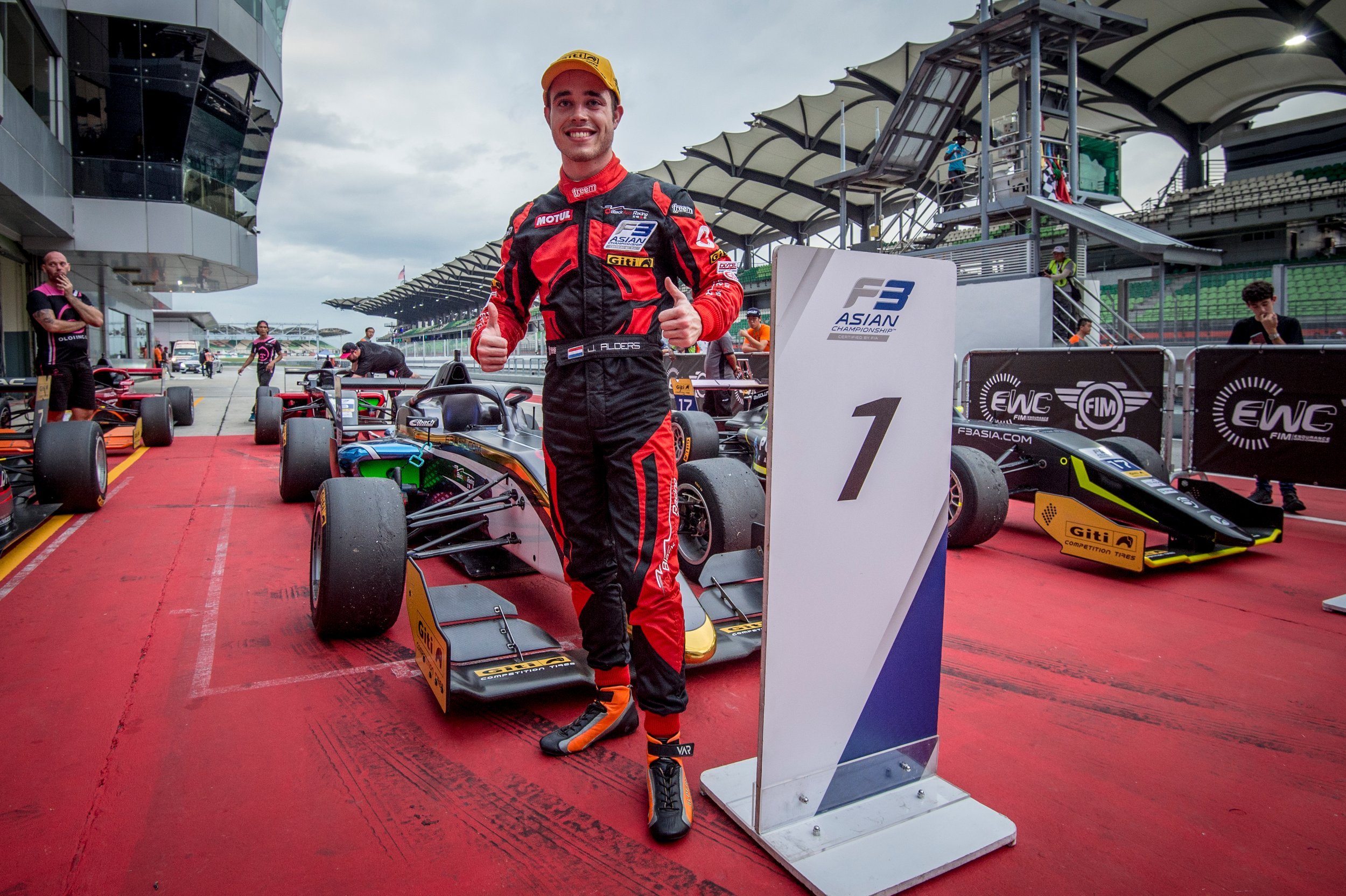 Joey Alders, Formula 3 Champion Asia