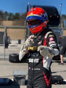 Portrait - Rinus Veekay at Indycar Winter test